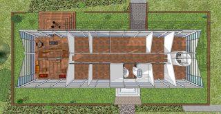 woonhuis-bovenaanzicht-plattegrond