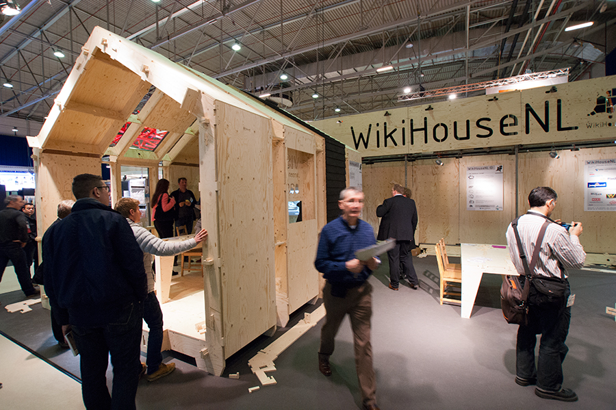 WikiHouseNL_op GEVEL2014_in_Ahoy_Rotterdam