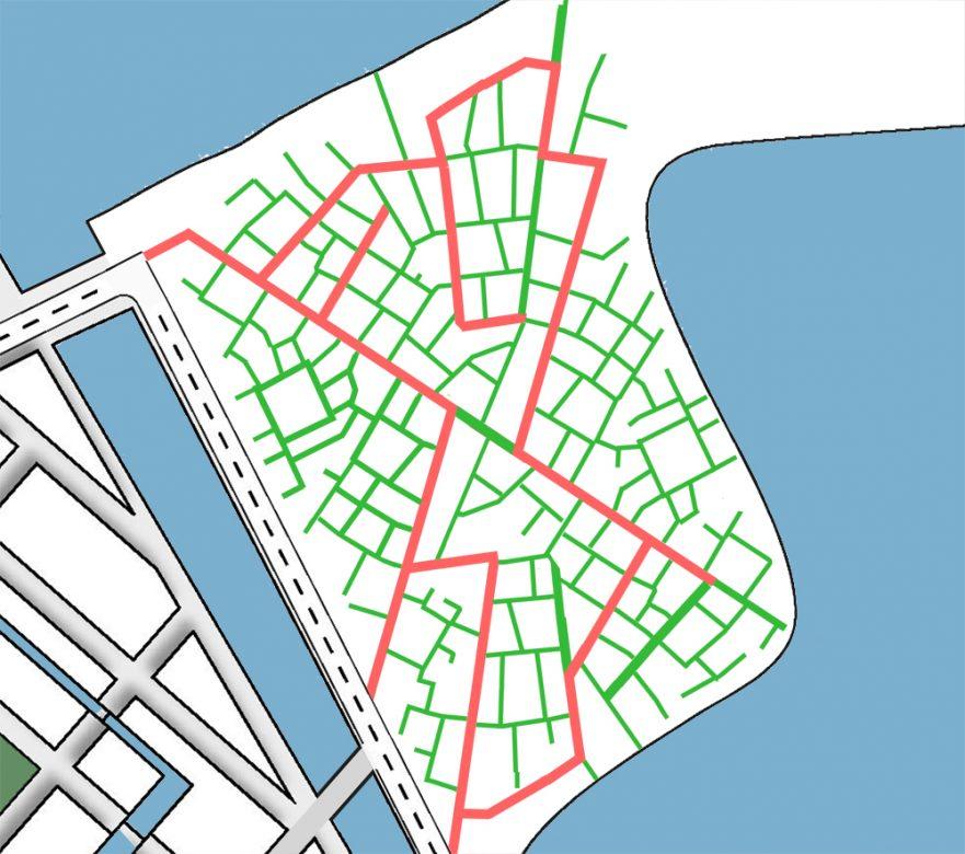 Structuur Plan WikiHouse op Centrumeiland