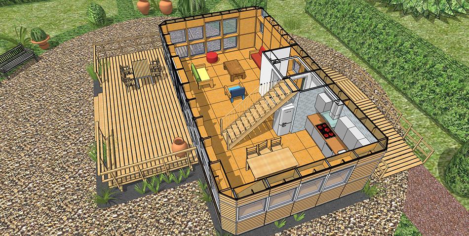 New_House_begane_grond_woonkamer_toegang_terras