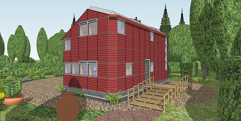 New_House_kleur_van_de_gevel_zelf_bepalen