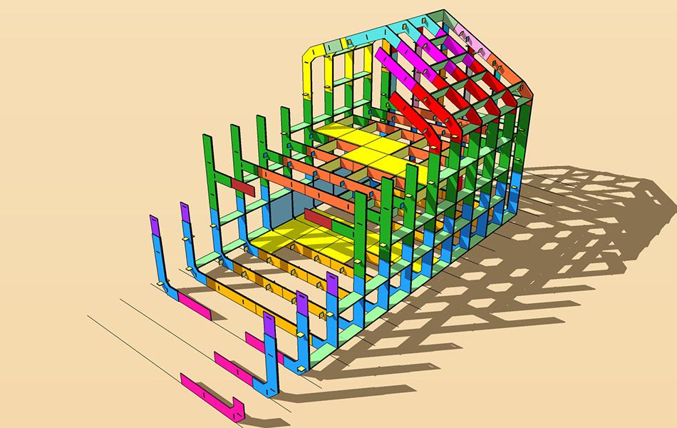 New_House_wordt_opgebouwd_uit_2650_multiplex_stukken