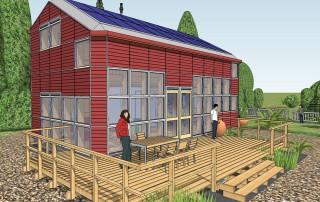 New House 2.0 een modulair zelfbouw houten huis