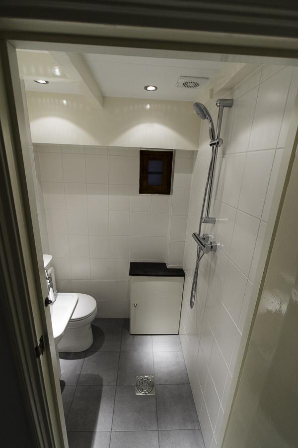 Kleine toilet doucheruimte in souterrain 1 jan willem de groot - Kleine doucheruimte ...