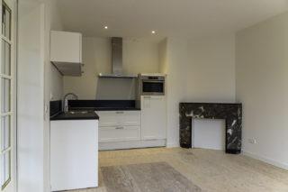 verbouw woning Amsterdam Oud West woonkamer keuken